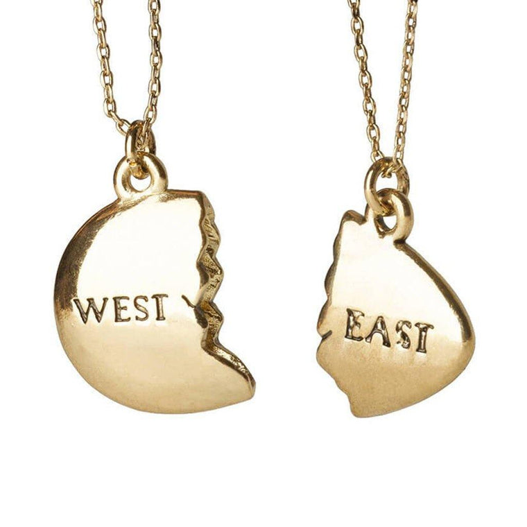 Great Gatsby East West Necklace