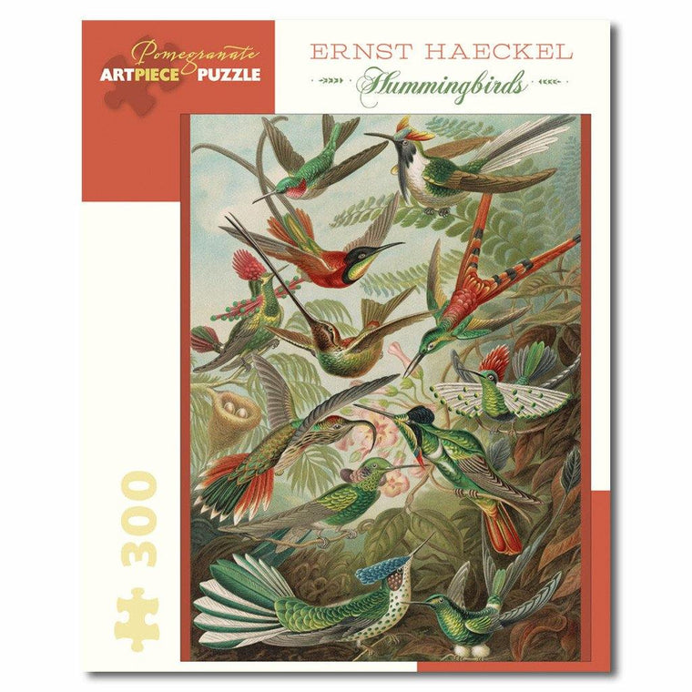 Ernst Haeckel Hummingbirds Puzzle