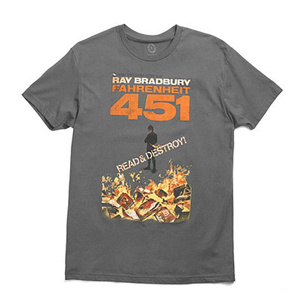 Fahrenheit 451 T-Shirt - Library of Congress Shop