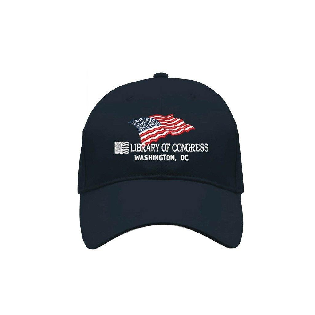 Flag Baseball Cap - Library of Congress Shop