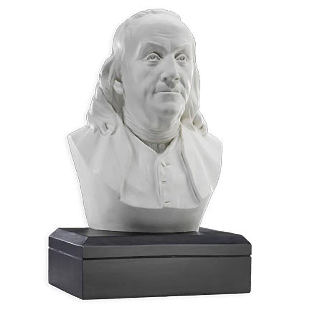 Benjamin Franklin Bust - Library of Congress Shop