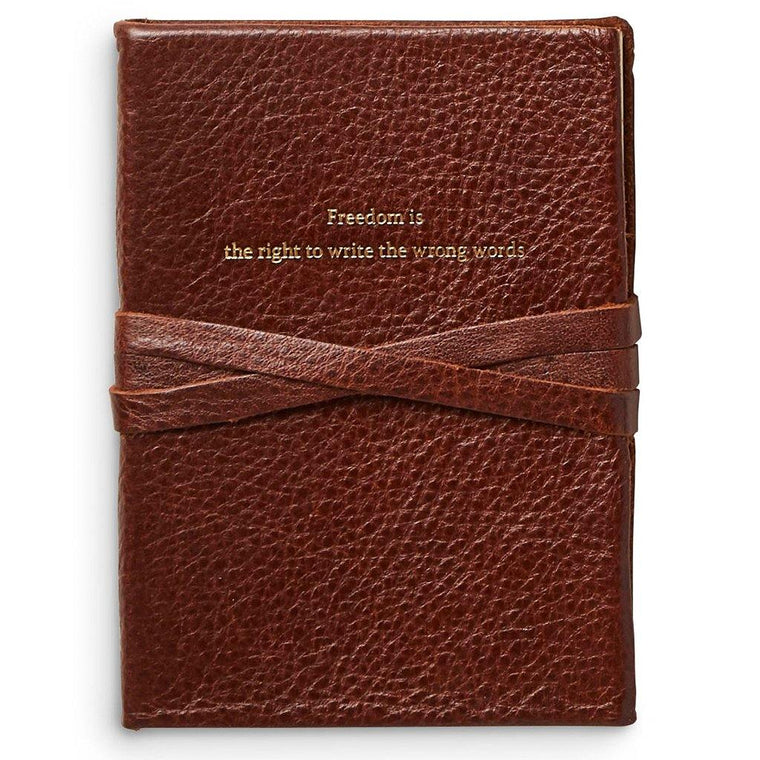 Vintage-Style Leather Journal