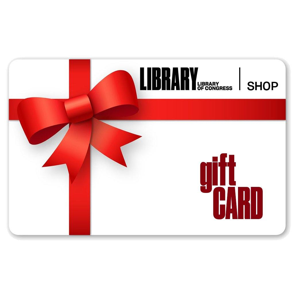 E-Gift Card - Library of Congress Shop