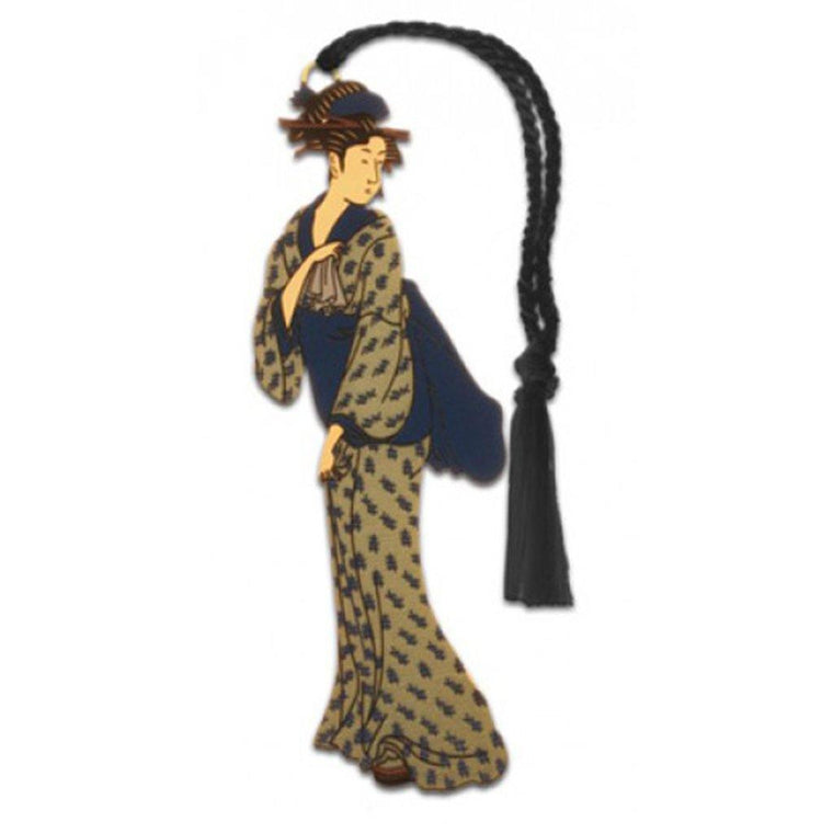 Geisha Walking Bookmark