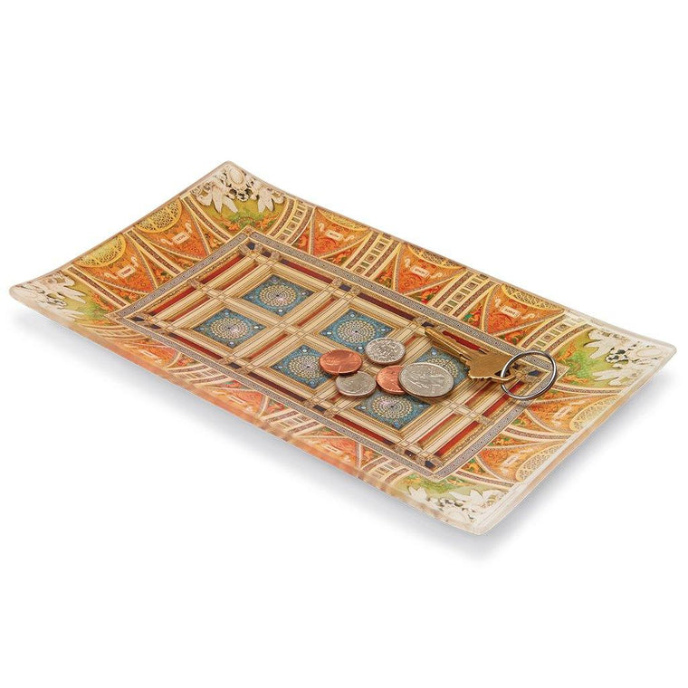 Mosaic Glass Tray