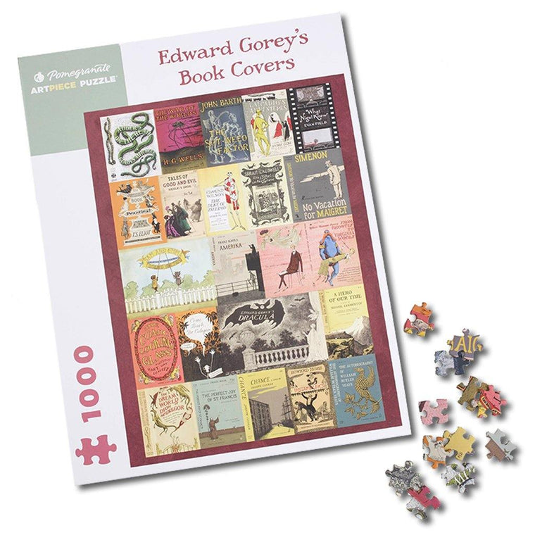 Gorey Book Covers Puzzle