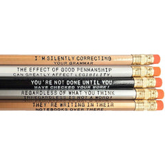 Grammar Pencils - Library of Congress Shop