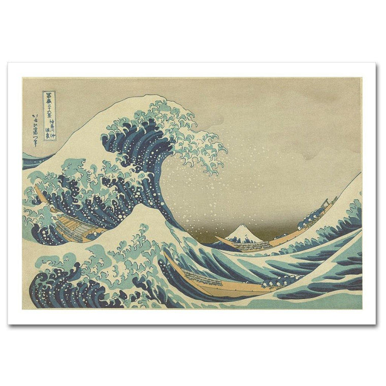 The Great Wave Print