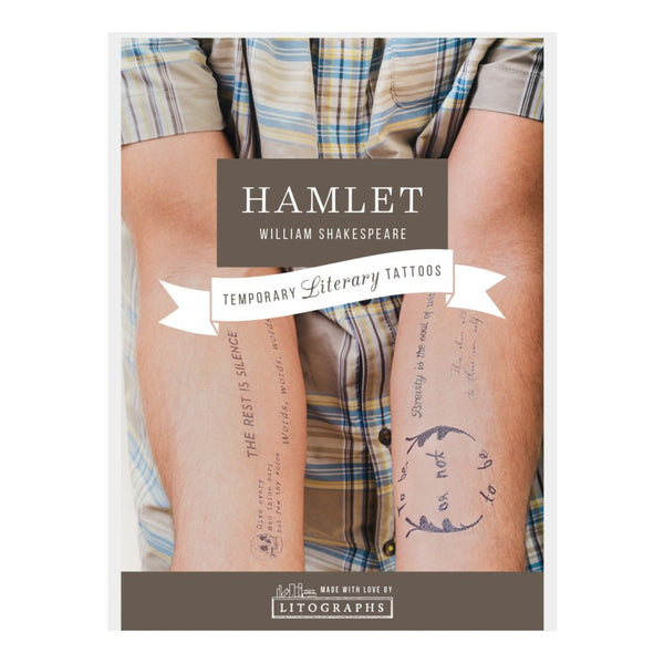 Temporary Literary Tattoos - Library of Congress Shop