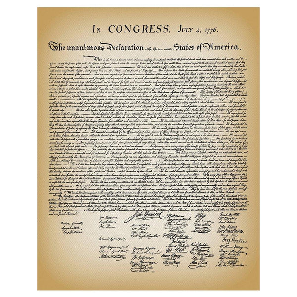 Declaration of Independence – Library of Congress Shop