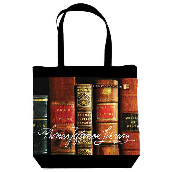 Thomas Jefferson's Library Tote Bag - Library of Congress Shop