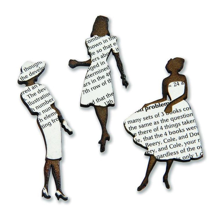 Lit Ladies Book Pin