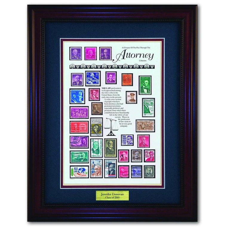 Lawyer Framed Stamps