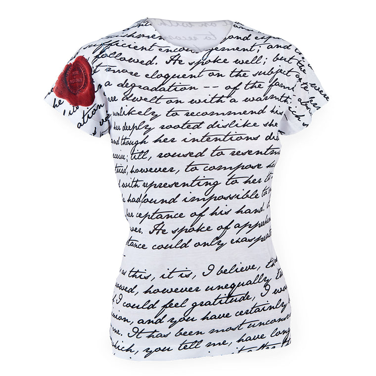 Pride and Prejudice Letter Top