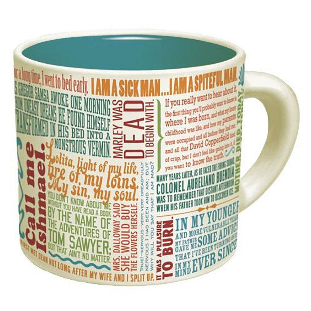Great Lines of Literature Mug - Library of Congress Shop