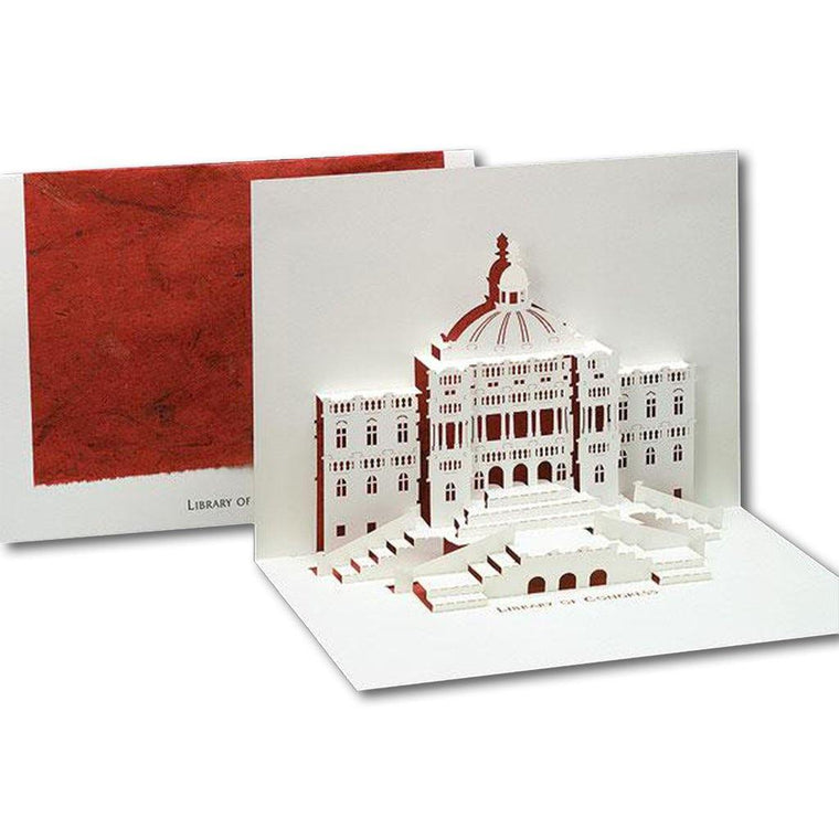 Library of Congress Origami Card