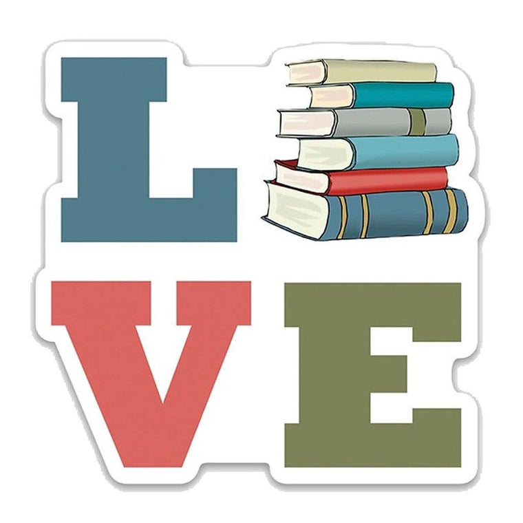 LOVE Book Sticker