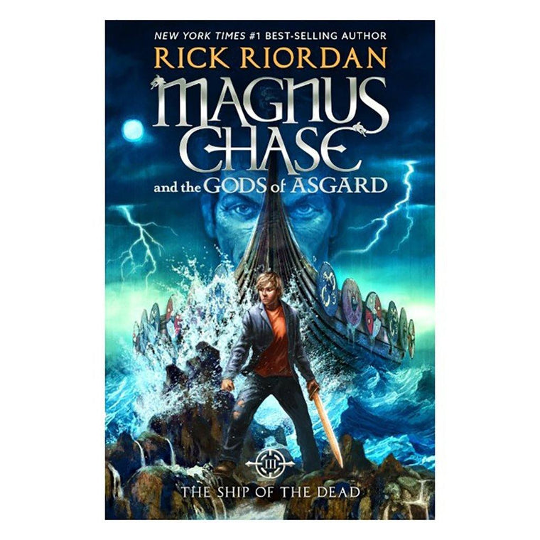 Signed Magnus Chase & the Gods of Asgard: The Ship of the Dead (Book 3)