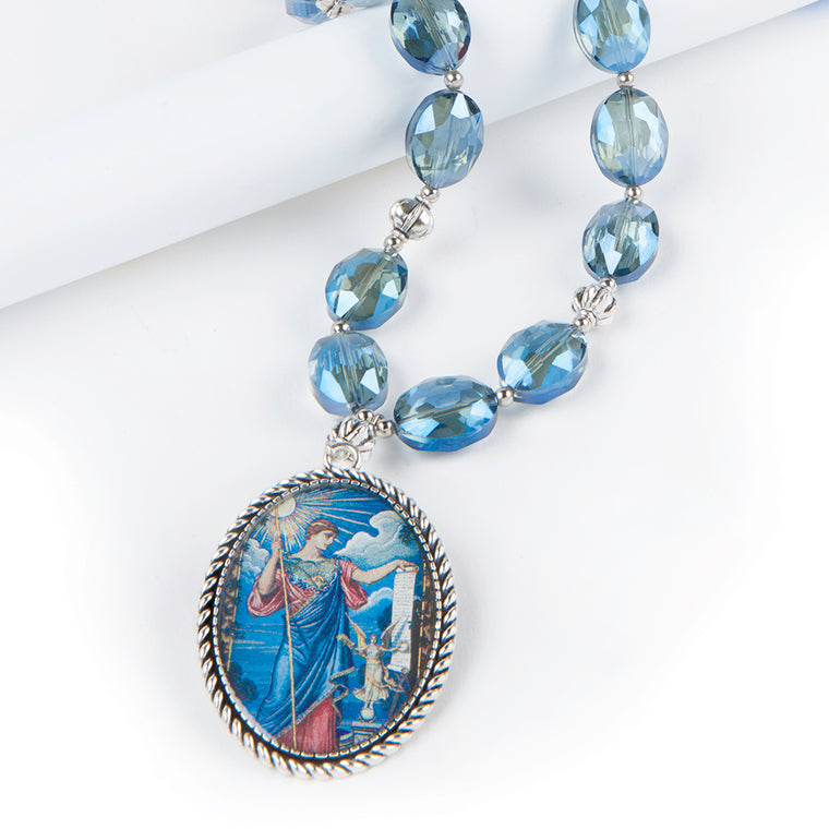 Jewelry library of congress shop minerva pendant necklace aloadofball Choice Image