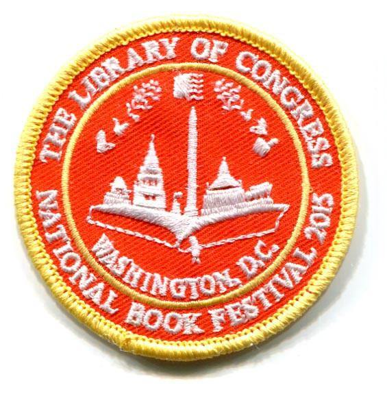2015 National Book Festival Scout Patch