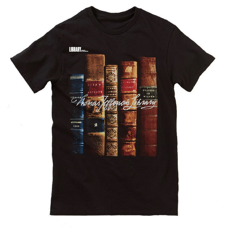 Thomas Jefferson's Library T-Shirt