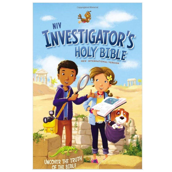 Niv Investigator S Holy Bible Library Of Congress Shop