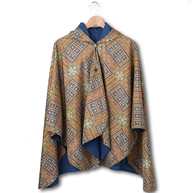 Mosaic Reversible Rain Cape