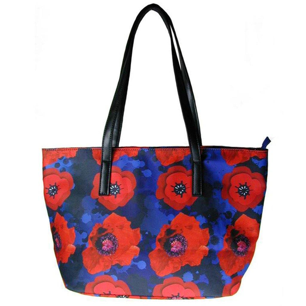 Red Poppy Tote
