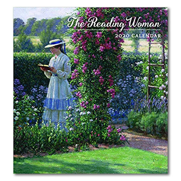 Reading Woman 2020 Desk Calendar