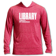 LOC Long Sleeve Hooded T-Shirt - Library of Congress Shop
