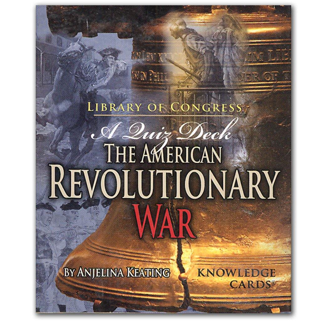 American Revolutionary War Knowledge Cards - Library of Congress Shop