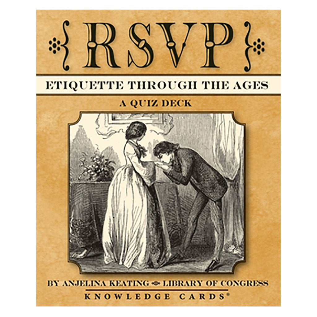 RSVP Etiquette Knowledge Cards