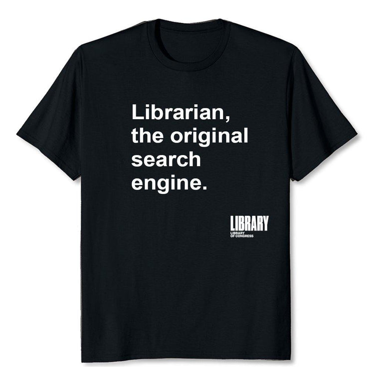 Search Engine Librarian T-shirt