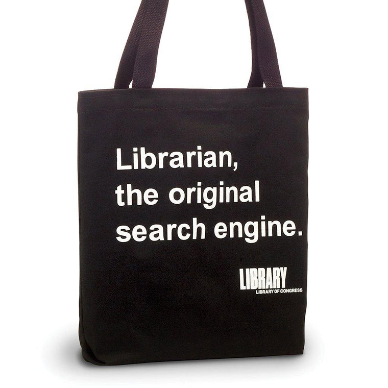 Search Engine Librarian Tote Bag