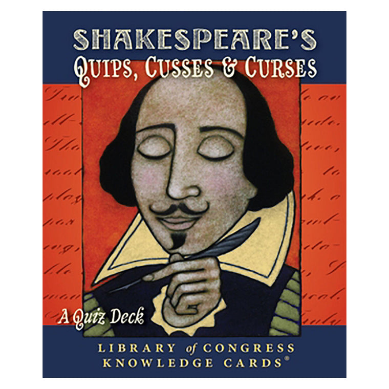 Shakespeare's Quips Knowledge Cards