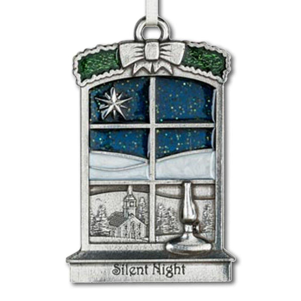 Silent Night Anniversary Ornament