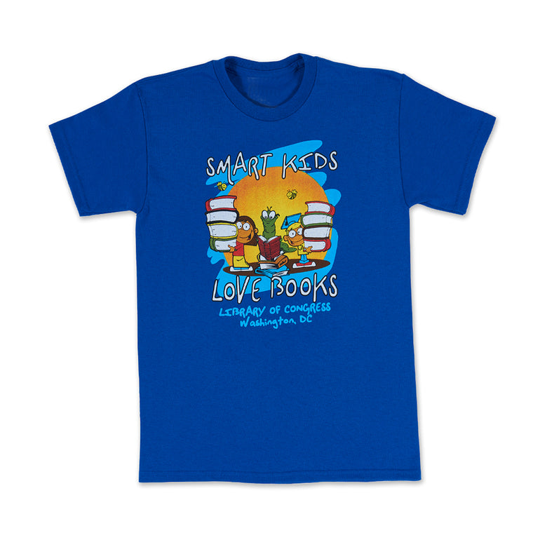 Smart Kids Love Books T-Shirt