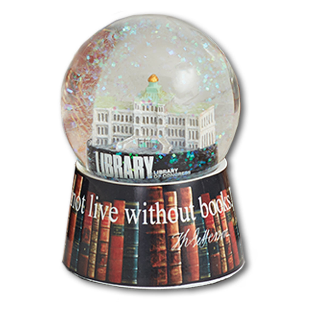 Thomas Jefferson Building Snow Globe - Library of Congress Shop