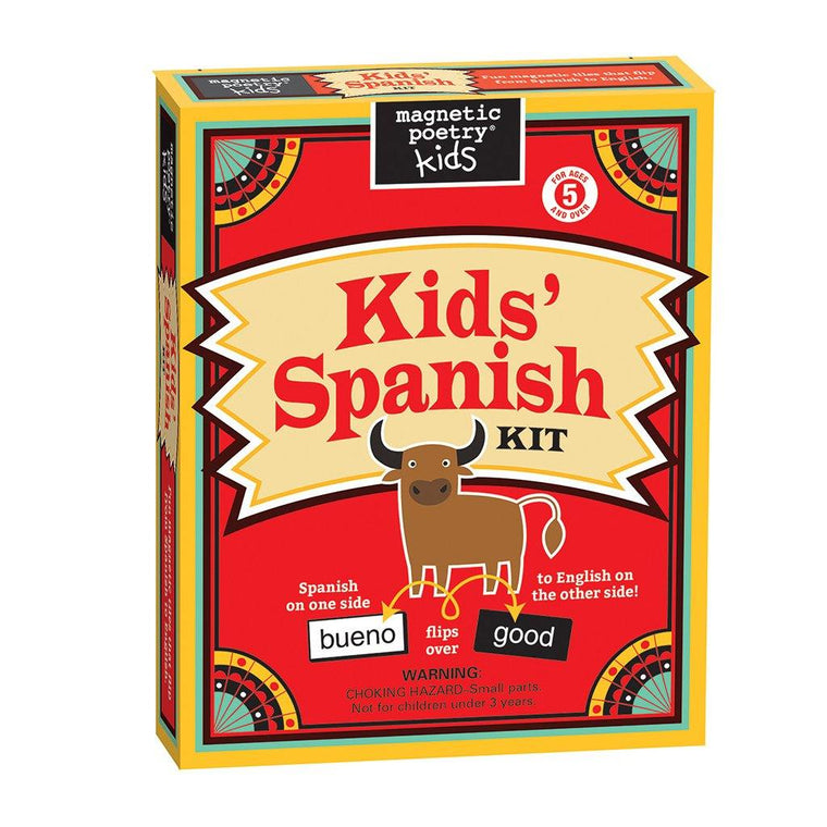 Spanish-Language Magnetic Words Kit