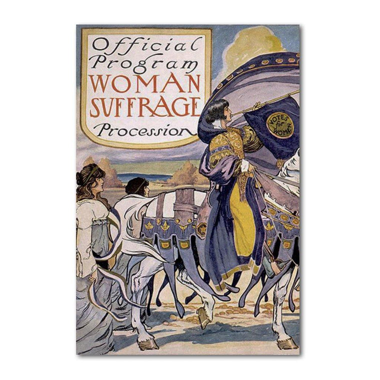 Women's Suffrage Official Program Journal