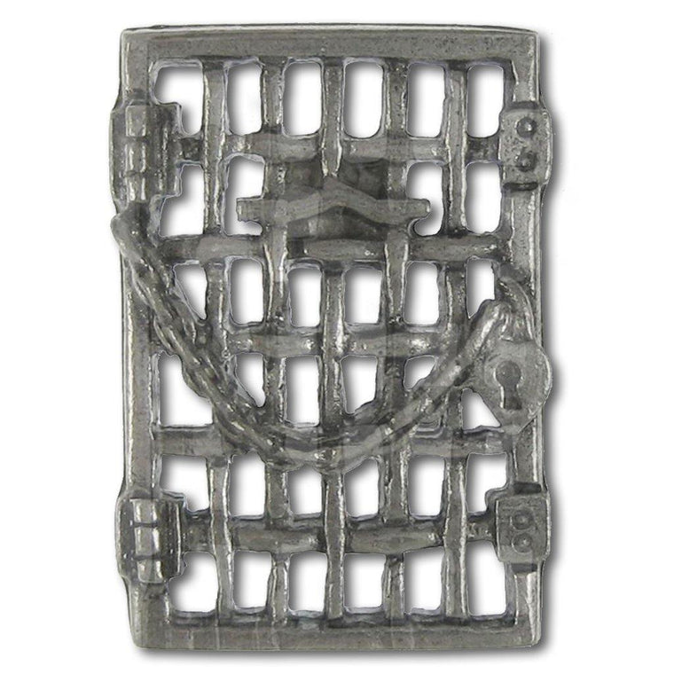 Jailhouse Door Women's Suffrage Pin