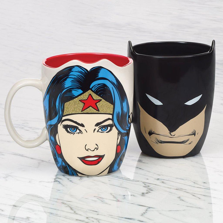 Comic Book Superhero Mugs