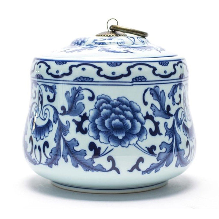Floral Tea Canister