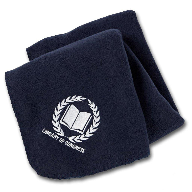 Library of Congress Fleece Blanket