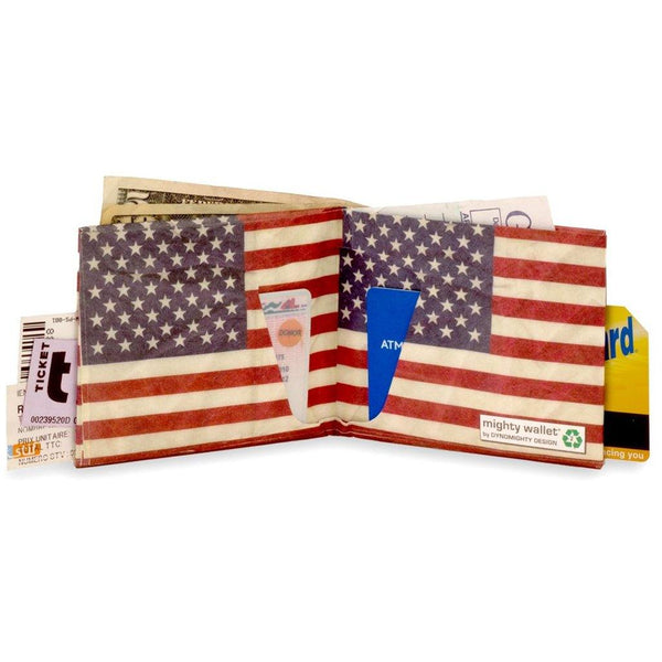 Stars and Stripes Wallet - Library of Congress Shop
