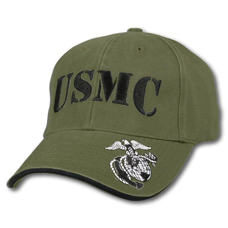 USMC Embroidered Baseball Cap