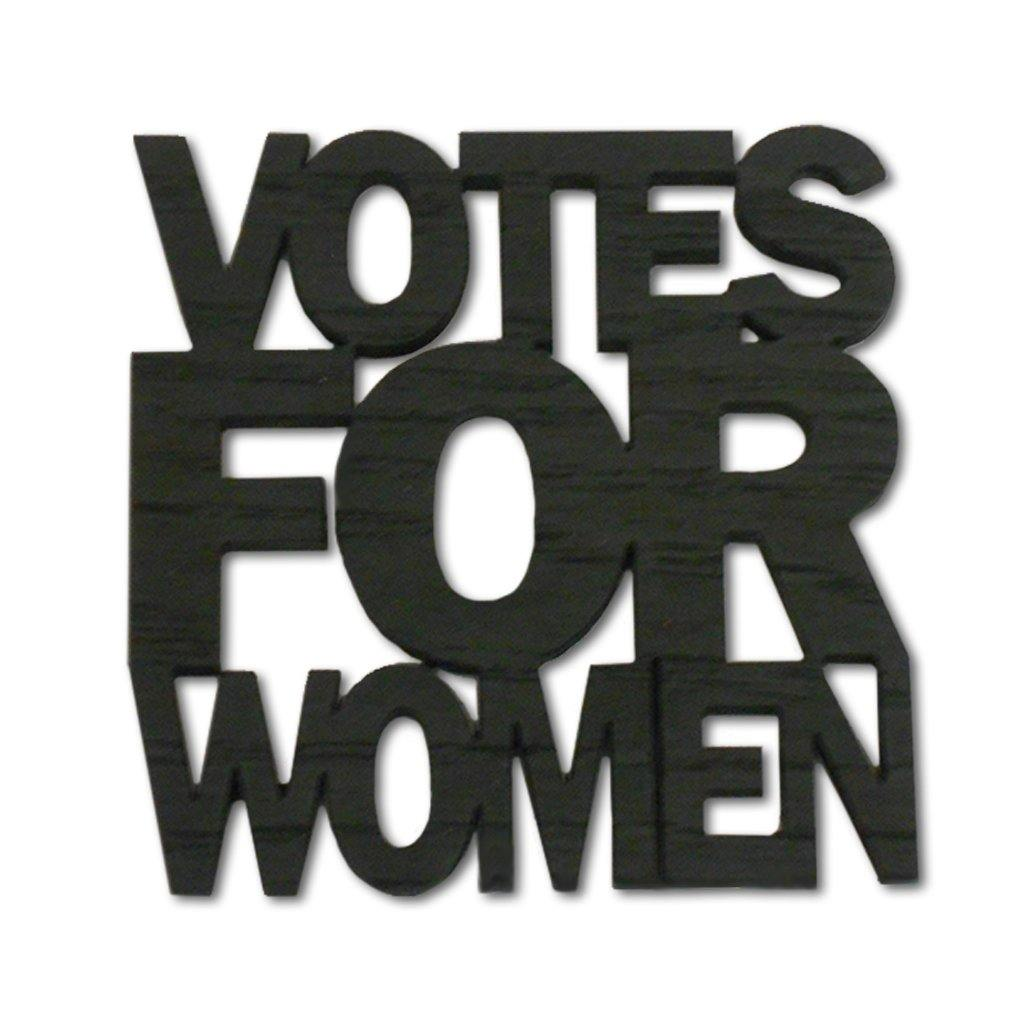 Votes for Women Wood Coaster