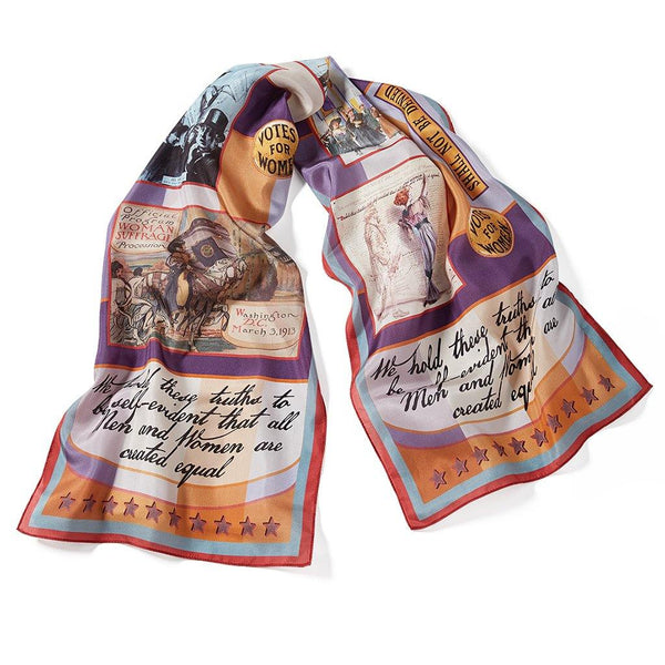 Women's Suffrage Silk Scarf - Library of Congress Shop