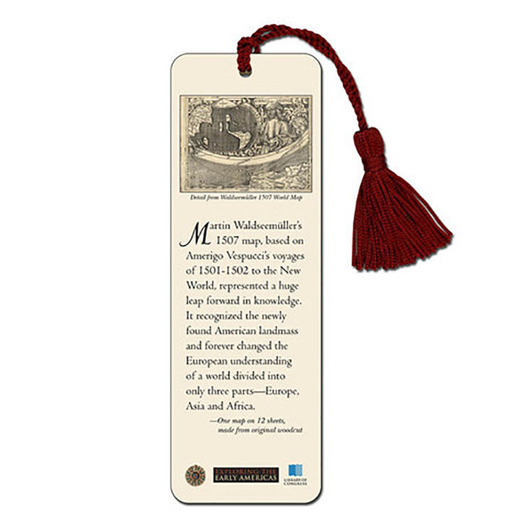 Waldseemuller Map Bookmark