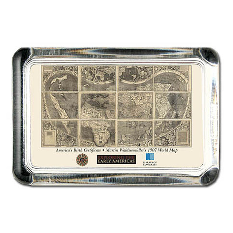 Waldseemuller Map Paperweight